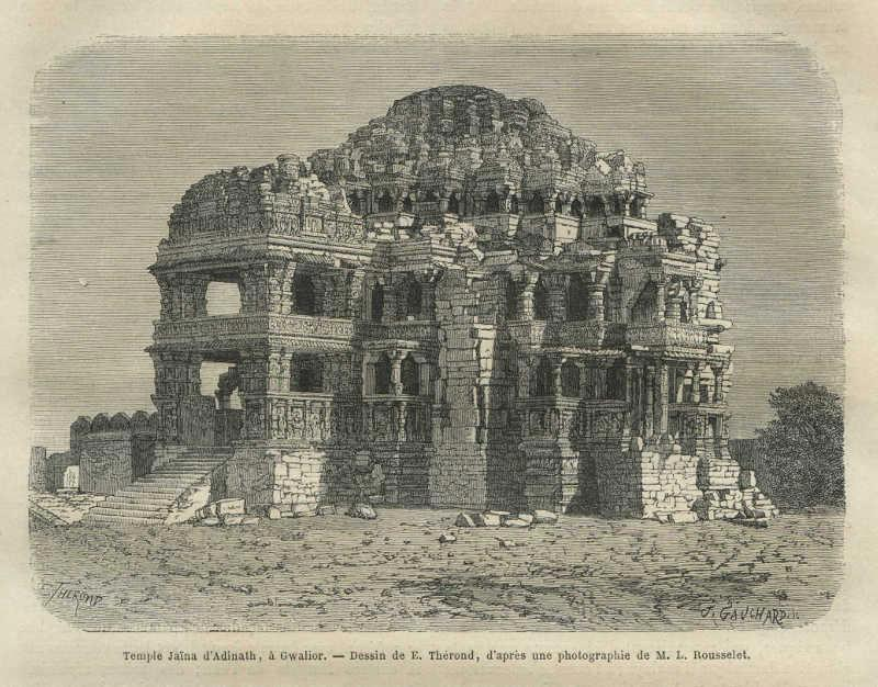temple of Lord Adinath, Gwalior Fort